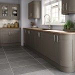kitchens gray cabinets  - 152878