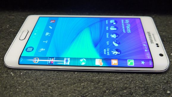 Samsung Galaxy Note Edge الابيض