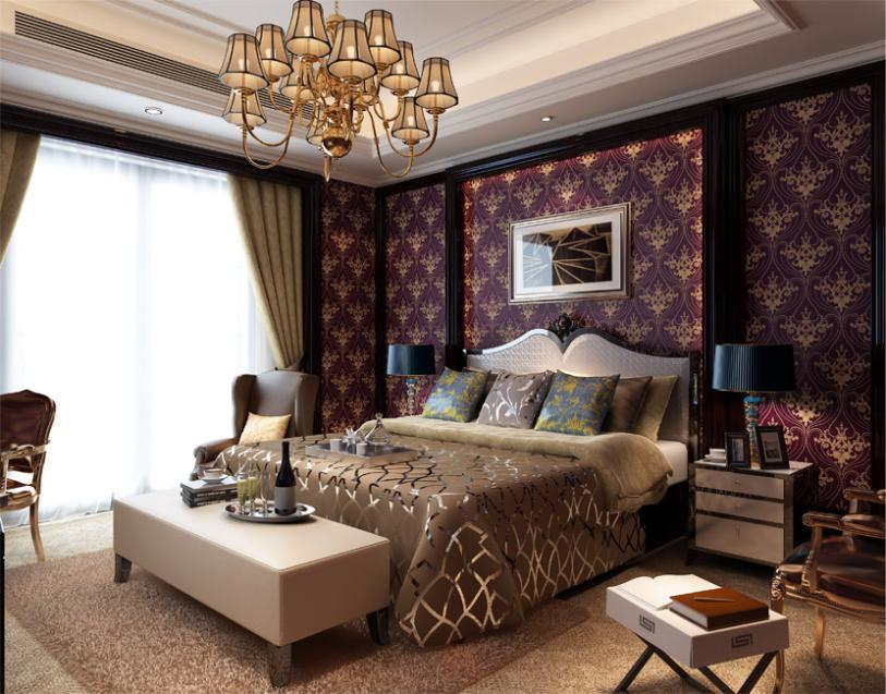 غرف نوم ذهبي وبنفسجي | المرسال