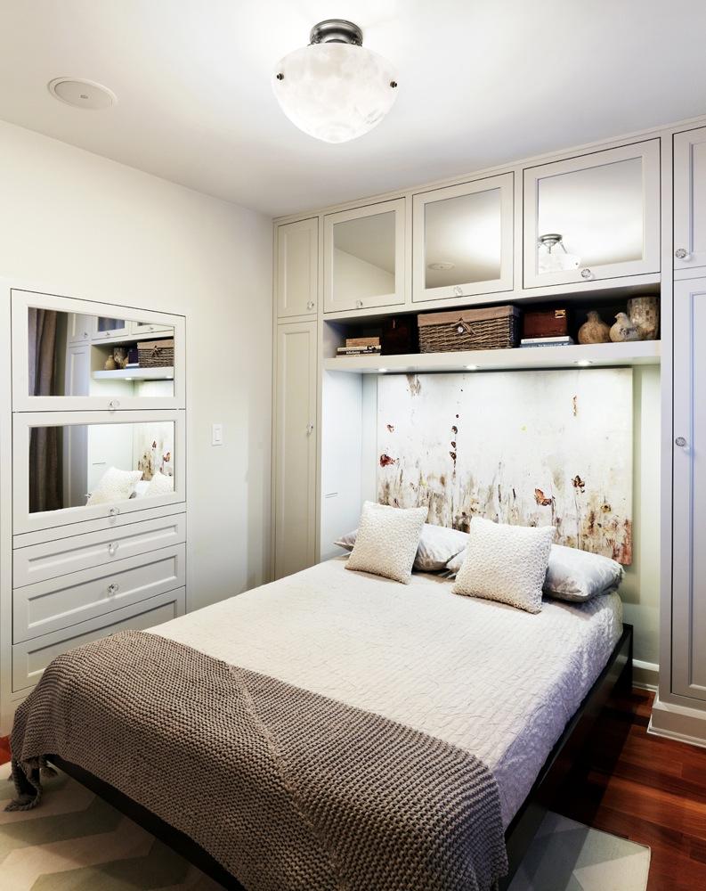 طريقة وضع الدولاب بغرف النوم الضيقة للكبار | المرسال