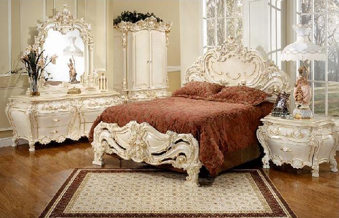 ديكورات فكتوريا بغرف النوم الجديدة   المرسال