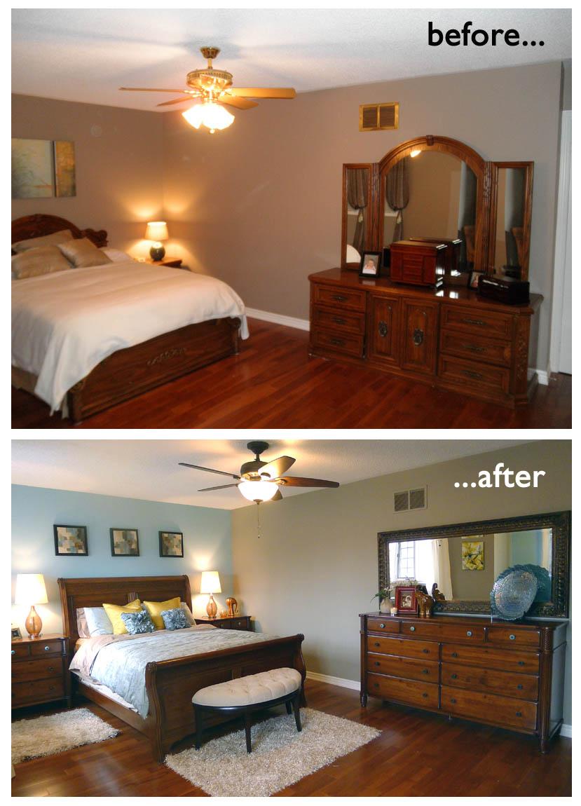 افكار تجميل وتعديل غرف نوم قبل وبعد | المرسال