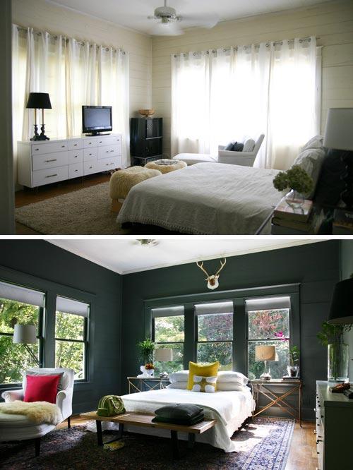 اجمل تعديلات وتغييرات غرف النوم قبل وبعد | المرسال