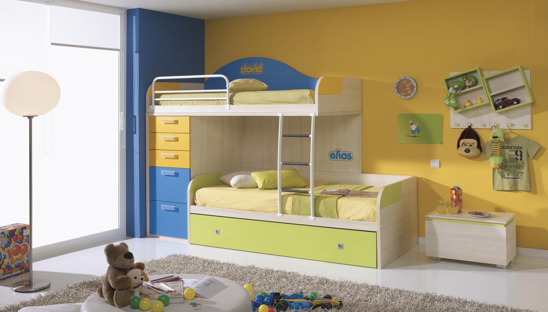 الوان فاتحة بغرف نوم للبنات طابقين المرسال