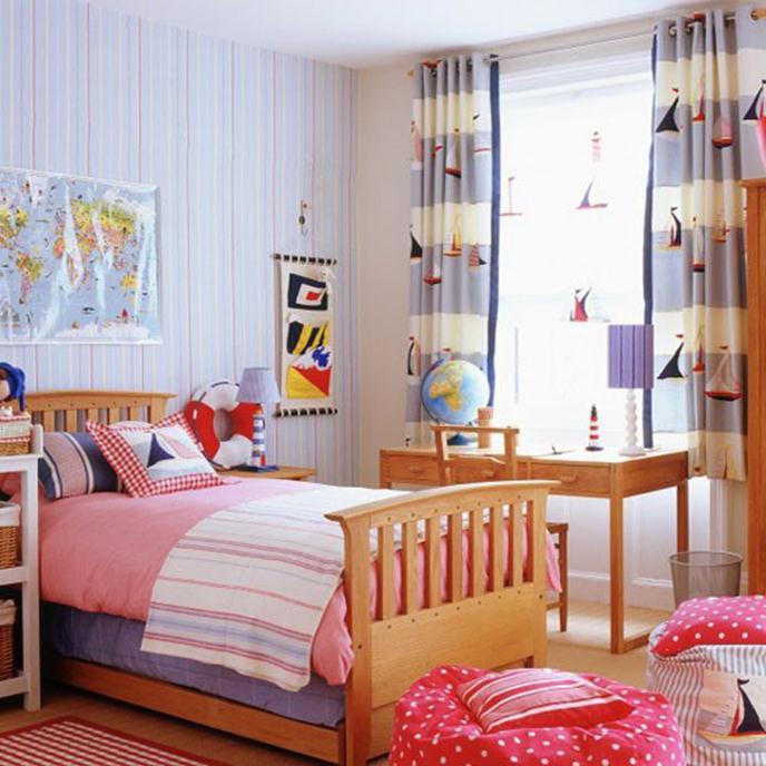 تصاميم مميزة لغرف نوم الاطفال الصغيرة | المرسال