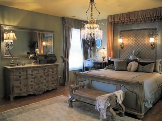 غرف نوم طراز قديم باللون الرمادي | المرسال