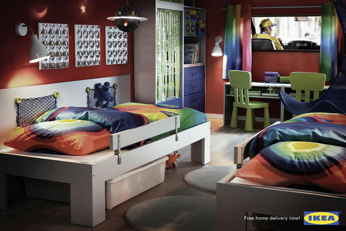 غرف نوم شباب ايكيا | المرسال