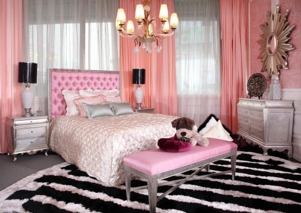 اجمل ديكورات رمادي ووردي بغرفة النوم | المرسال on Small Room:yi04Pfnkpjo= Teenage Bedroom Ideas  id=35634