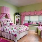 ستائر روعة بغرفة النوم الوردية  - 152853