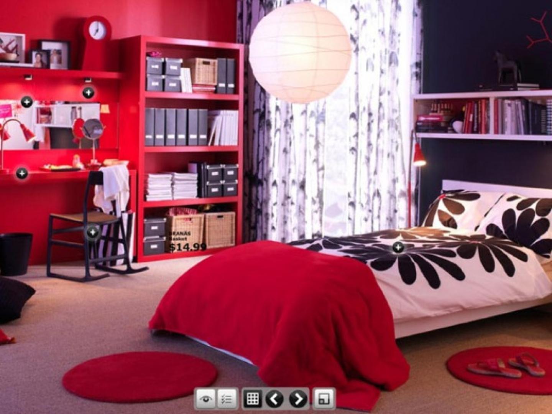اللون الاحمر بغرف نوم شباب ايكيا  المرسال ~ 153601_Innovative Dorm Room Ideas