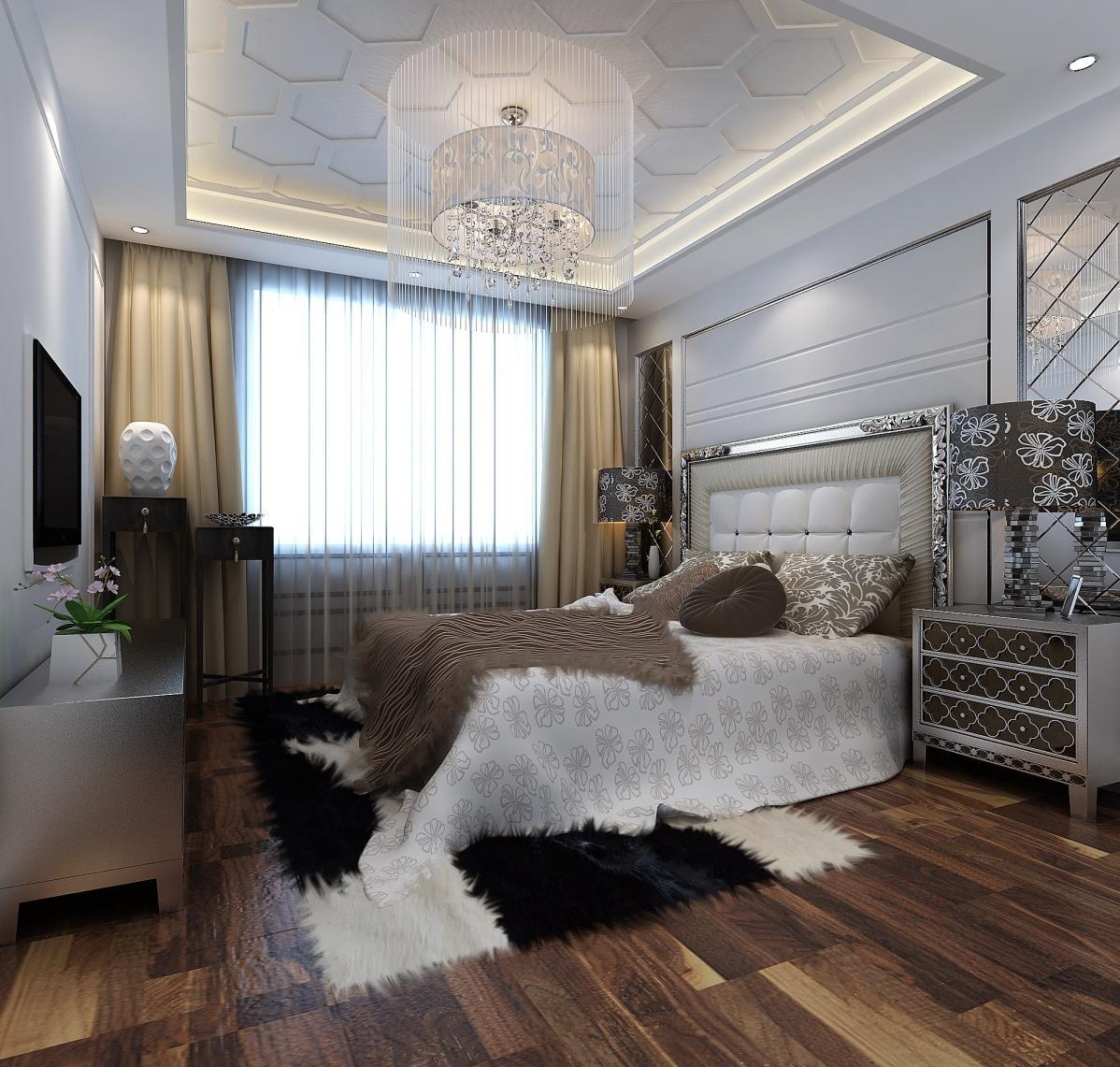 ارضية باركيه بغرفة نوم طراز اوربي | المرسال