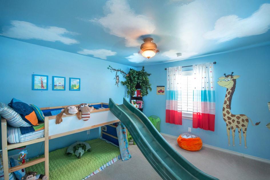 اشكال غرف اطفال سماوي مذهلة | المرسال