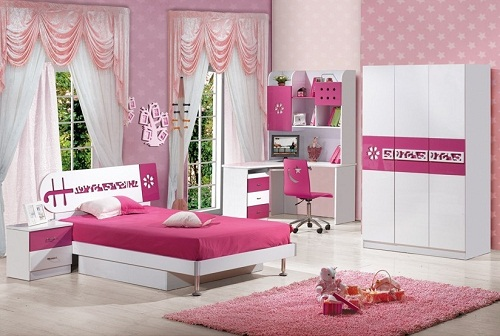 2015 Teenage girl bedroom furniture for sale