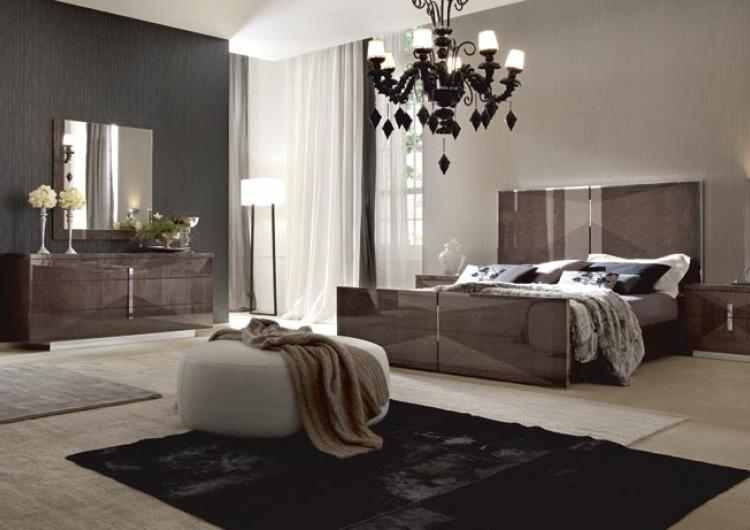 اناقة غرف نوم المطلق الحديثة | المرسال