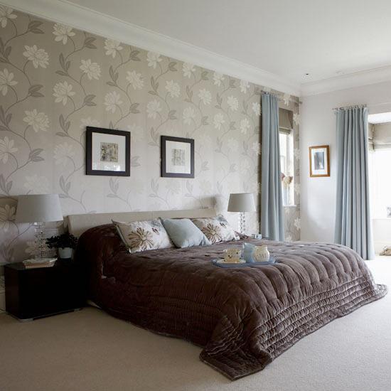 اجمل اشكال ورق جدران غرف النوم التحفة | المرسال