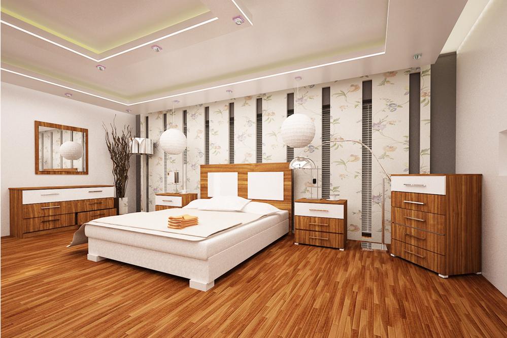 ارضية باركيه بغرفة نوم البناء والعمار | المرسال