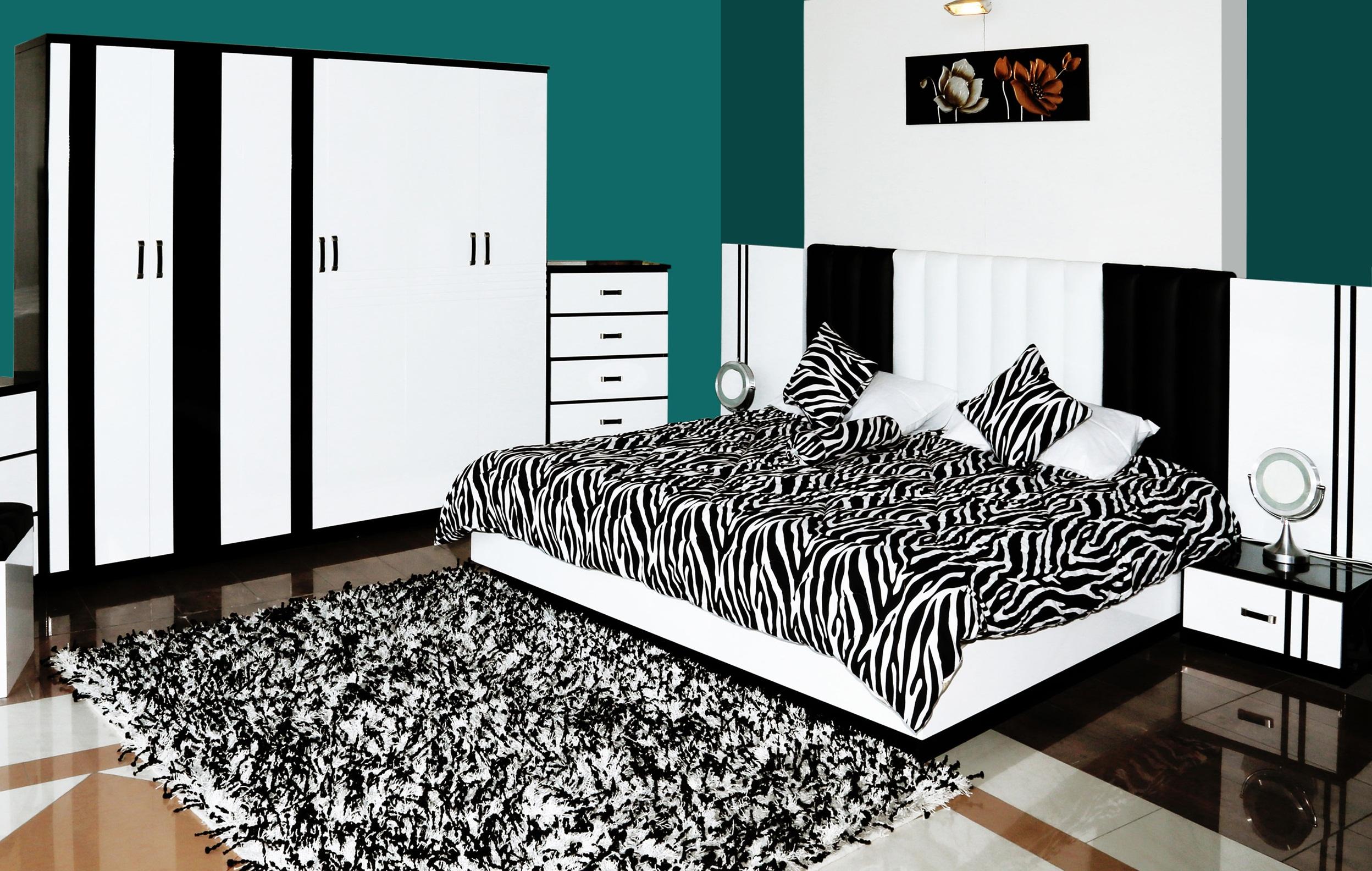غرفة نوم خشبية عروض السريع   المرسال