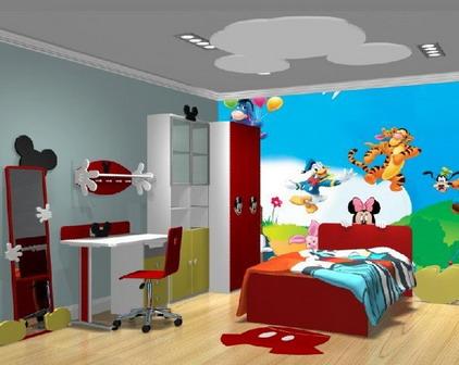 رسومات في غرف اطفال المرسال