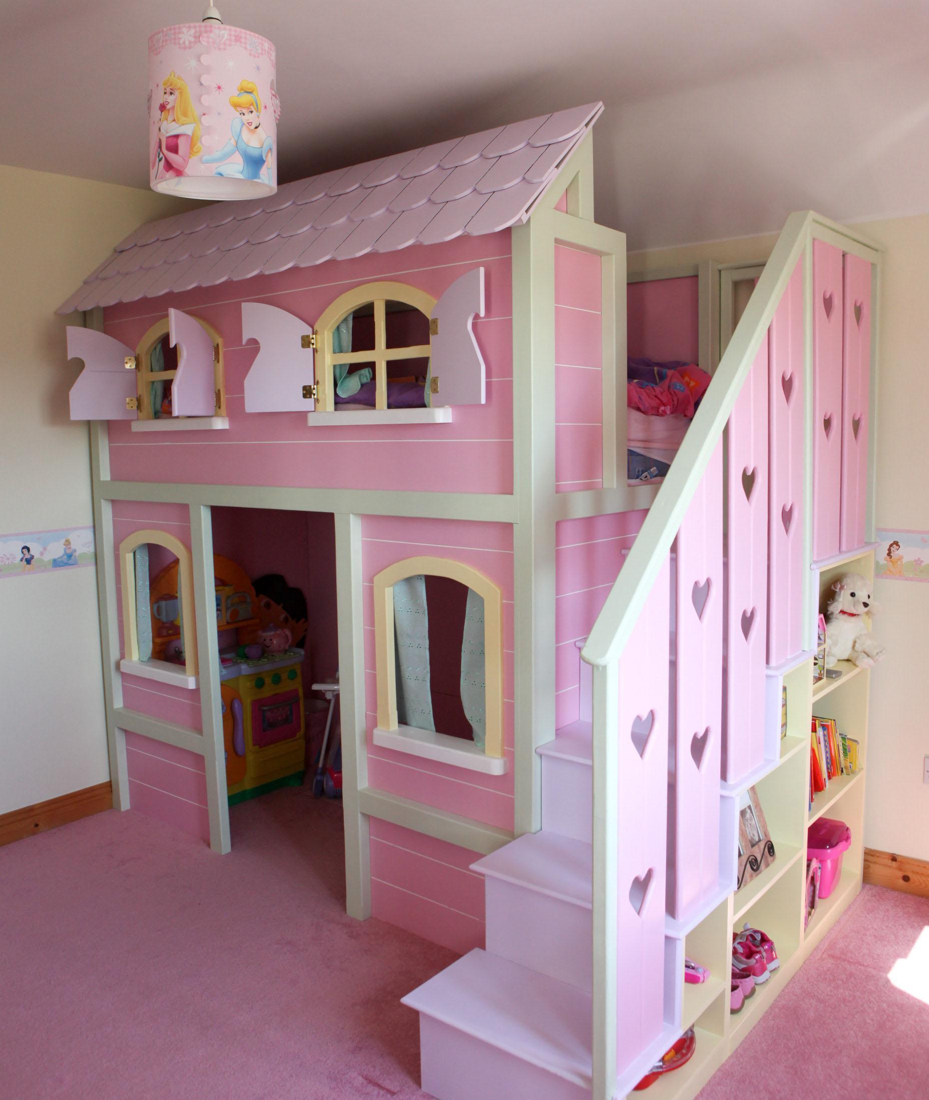 ديكورات جديده لغرف الاطفال على شكل كوخ | المرسال
