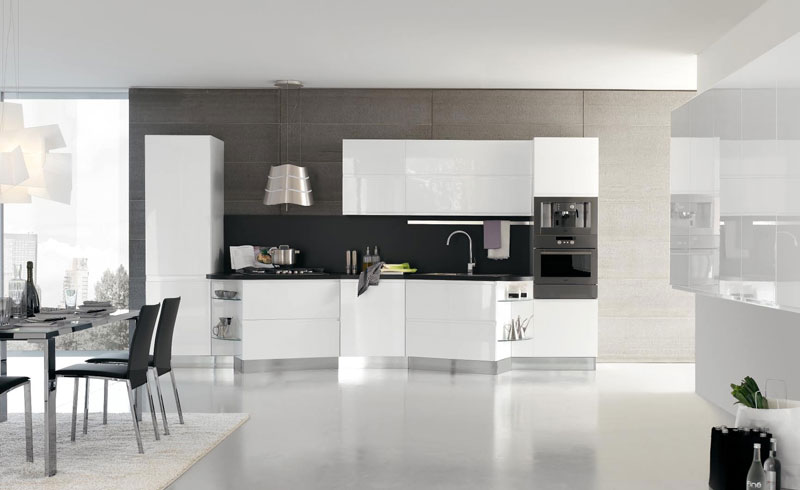 New modern kitchens designs for Colors that pop out