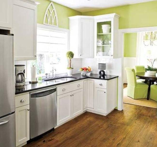 Colorful Kitchen Decor Pictures: مطبخ جديد باللون الابيض رائع