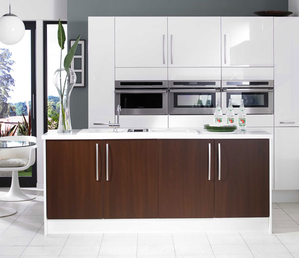 Hi Gloss Grey Kitchen: موديل مطابخ غاية في الجمال High Gloss
