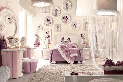 اجمل اشكال غرف نوم البنات 2015 | المرسال