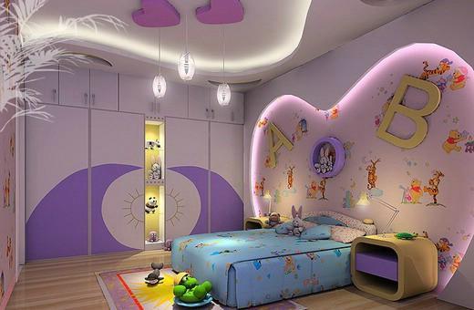 اضاءات وقلوب لتزيين غرفة الاطفال المبهرة | المرسال