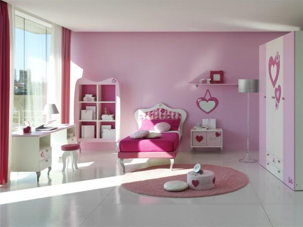 غرف اطفال بنات Models-bedrooms-Girls-2015