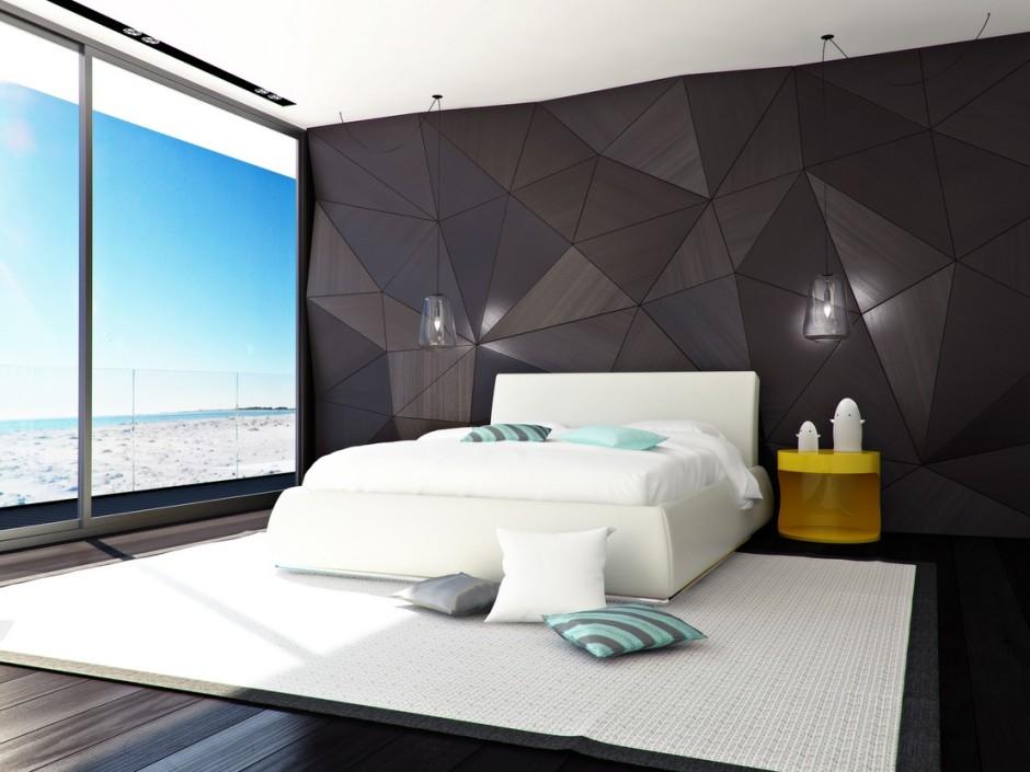 احدث موضة ورق الجدران بغرفة النوم الجديده | المرسال