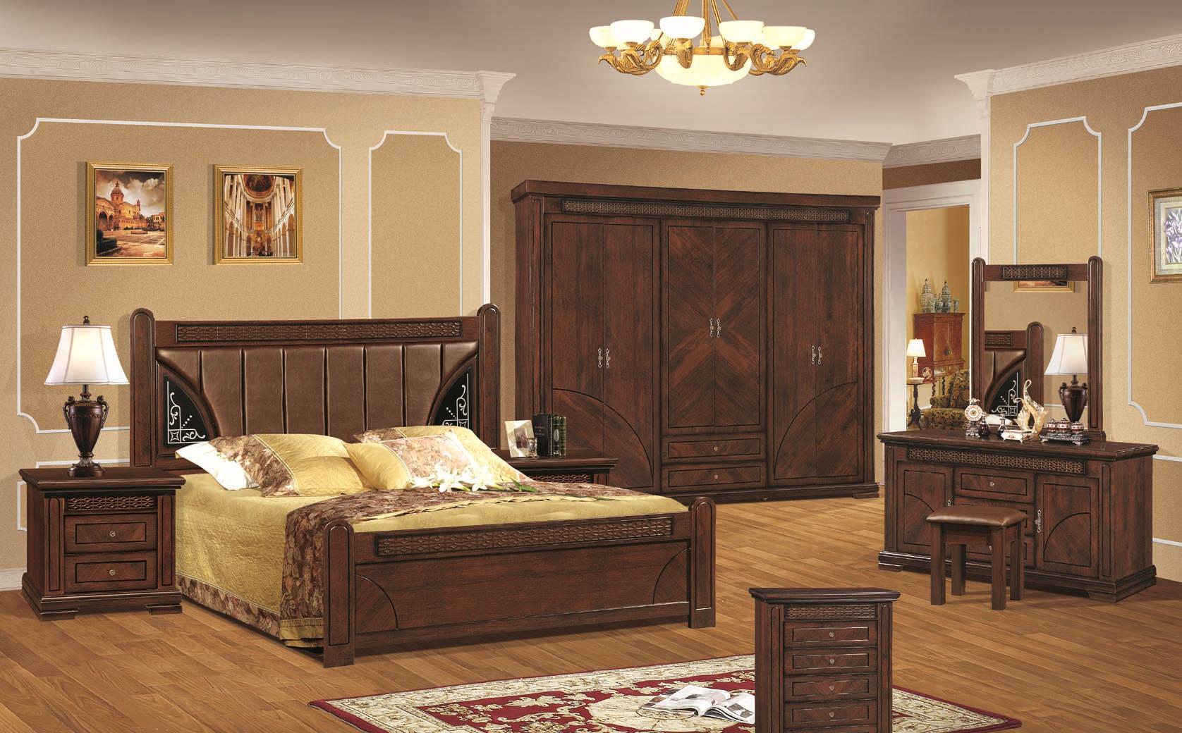 غرفة نوم خشبية عروض السريع | المرسال