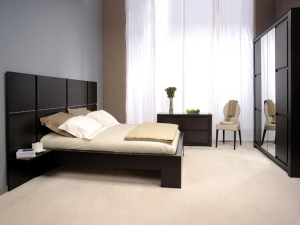 موديلات غرف نوم خشب اسود | المرسال