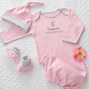 ملابس اطفال Personalized-Baby-Clothes-Gift-Set