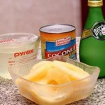 مقادير عمل عصير الاناناس