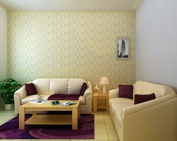 غرفة الجلوس باروع ورق جدران ماركو بولو | المرسال