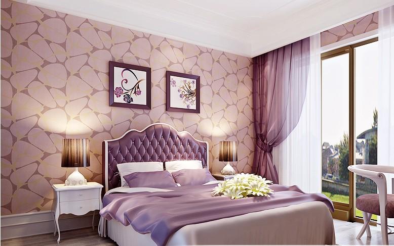 جدران بلون موف ضد الرطوبة بغرفة النوم | المرسال
