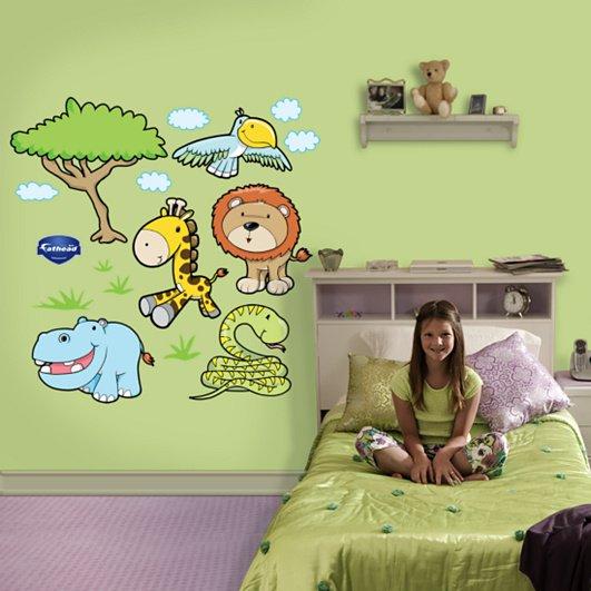 اجمل جدران غرف اطفال جديدة | المرسال