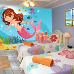 رسومات في غرف اطفال