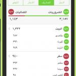 افضل التطبيقات العربية لادارة المصروفات والراتب الشهري