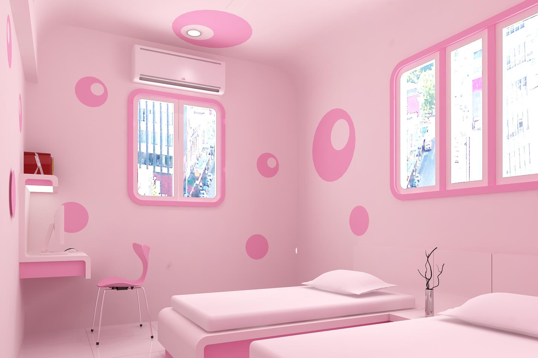 غرف نوم باللون البينك | المرسال