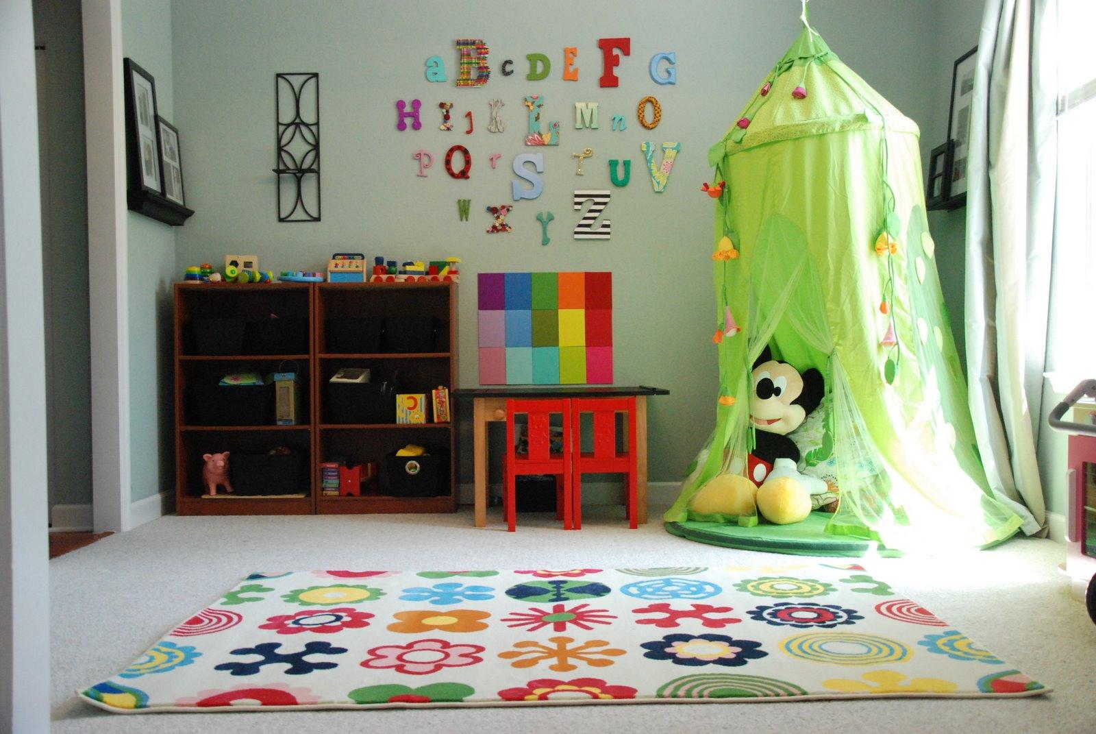 غرفة لعب أطفال صغيرة المرسال