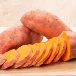 البطاطا الحلوة للاطفال الرضع