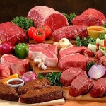 ألوان من اللحوم