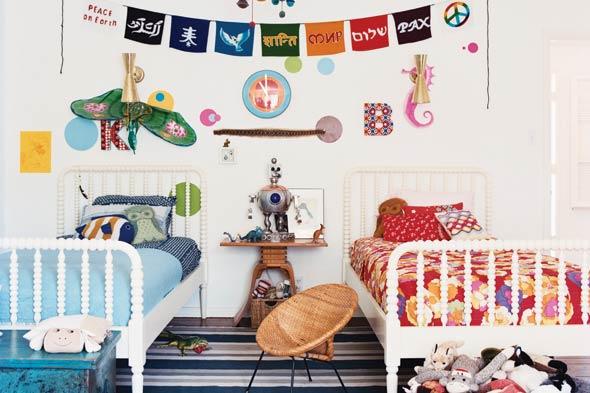 ديكورات غرف نوم اطفال بنت وولد | المرسال