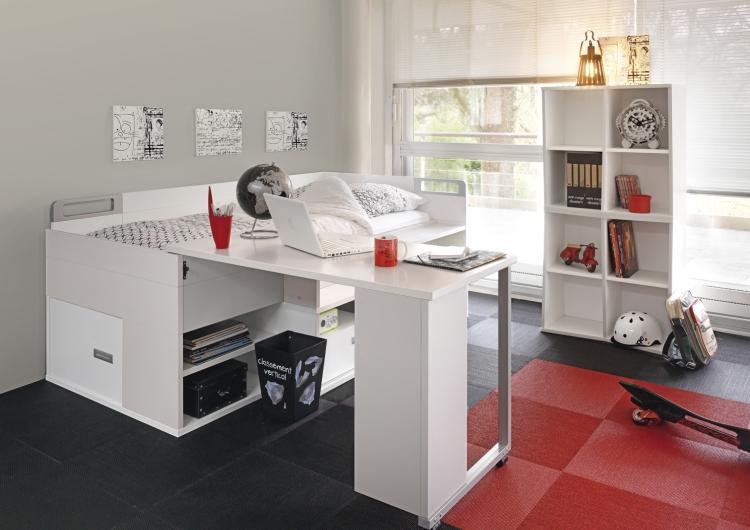 غرف نوم اطفال مع مكتب المطلق | المرسال