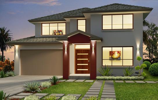 facades villas modernes. Black Bedroom Furniture Sets. Home Design Ideas