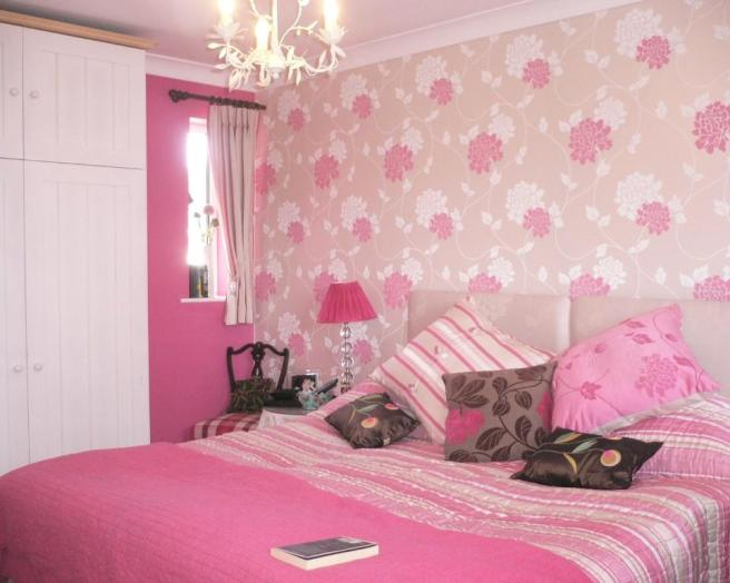 my pink bedroom wallpaper for rooms المرسال 12677