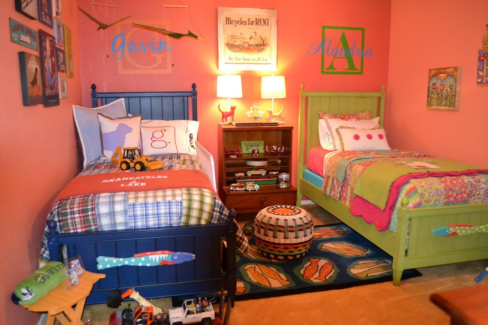 غرف نوم اطفال ولد وبنت | المرسال
