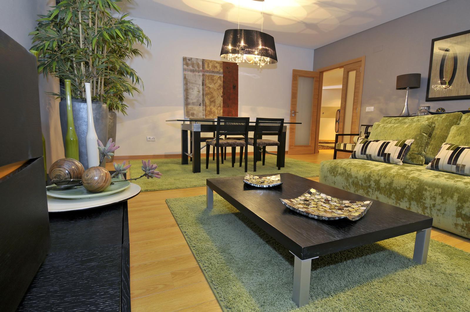 افكار غرف جلوس مع طاولة طعام مدهشة | المرسال