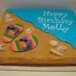 كيكة الرمل لعيد ميلاد